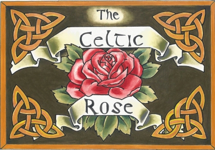 The Celtic Rose Graphic